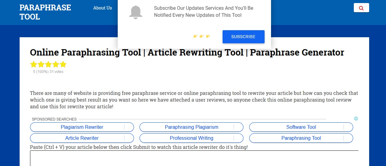review of myparaphrasingtools.com