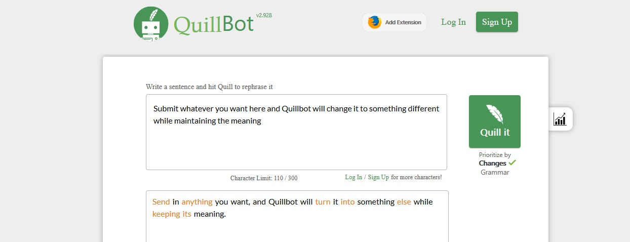 review of quillbot.com