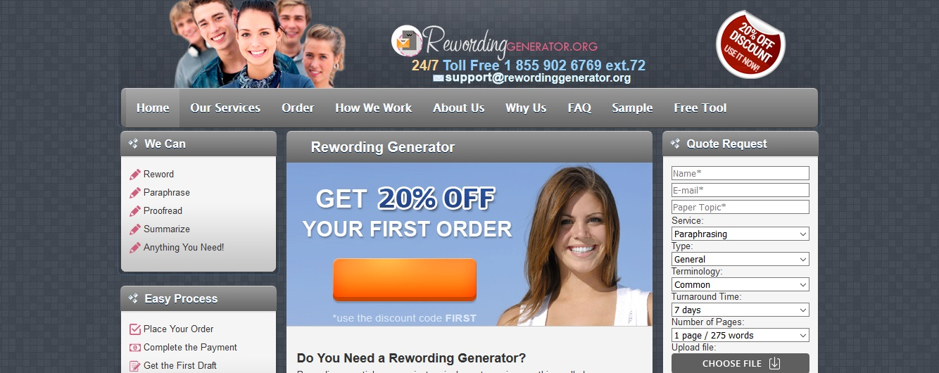 review of rewordinggenerator.org