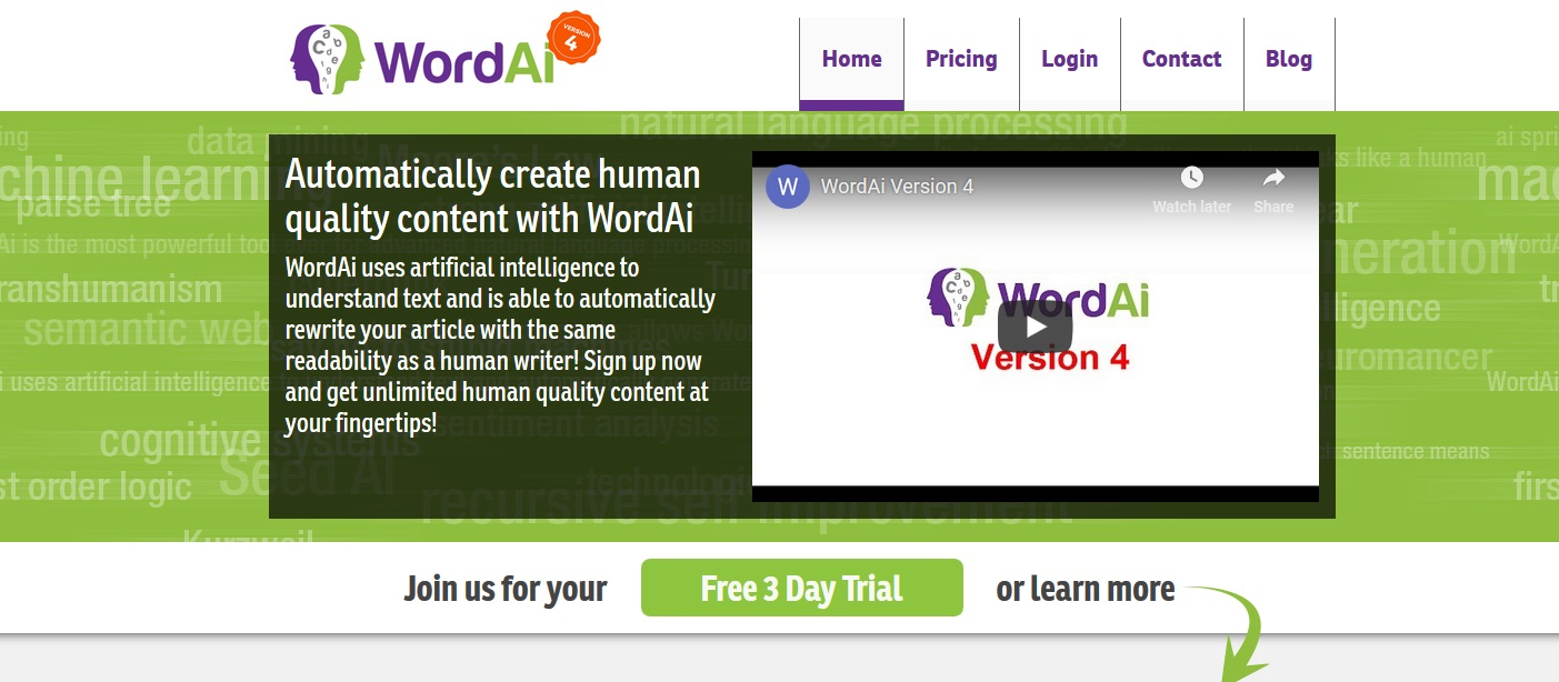 review of wordai.com
