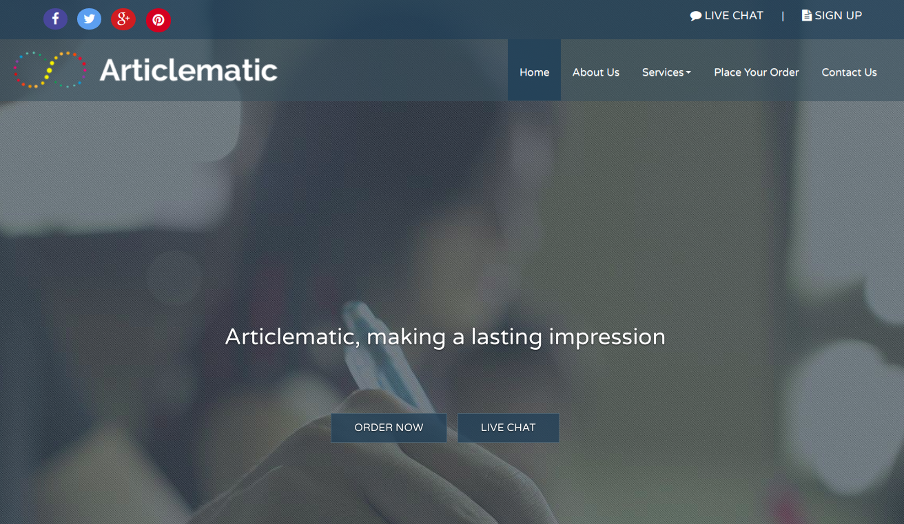 articlematic.com article writing