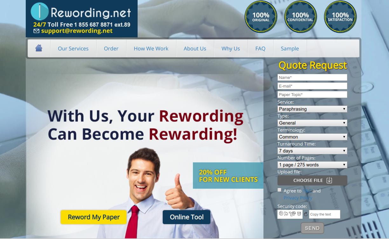 rewording.net rewording