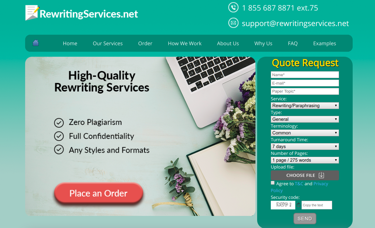 rewritingservices.net rewriting service