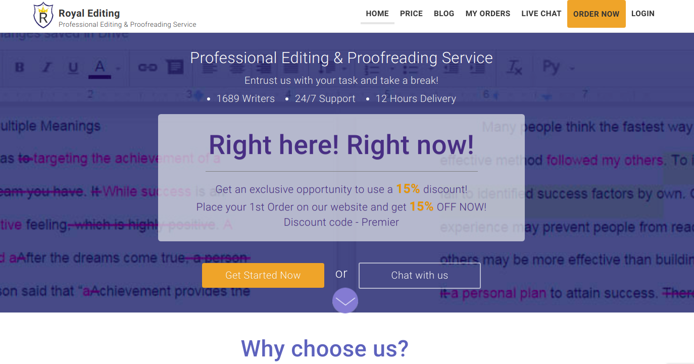 royalediting.com paraphrasing services